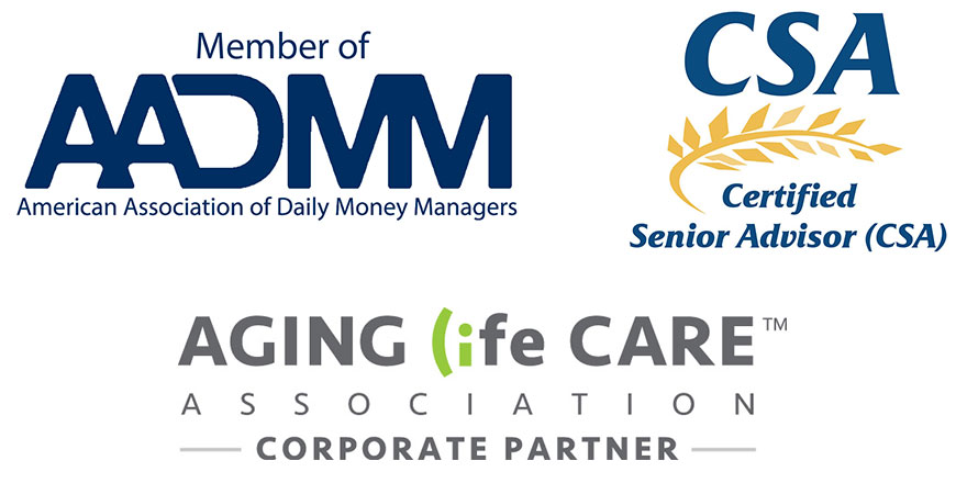 American Association of Daily Money Managers, Certified Senior Advisor, Aging Life Care Association Corporate Partner